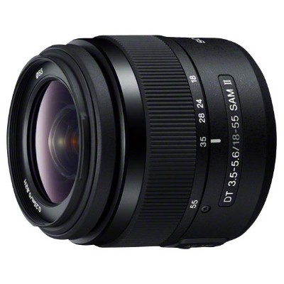 SONY ズームレンズ DT 18-55mm F3.5-5.6 SAM II SAL18552 [SAL18552]