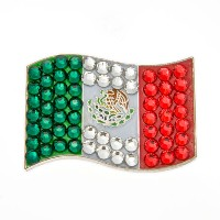 Bonjoc Ladies Mexico Flag Ball Markers【ゴルフ レディース>ボールマーカー】