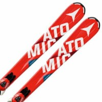 ATOMIC〔アトミック ジュニアスキー板〕 2017 REDSTER JR EDGE + XTE 7 【金具付き・取付料送料無料】