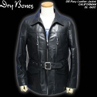 DRY BONESドライボーンズ◆DB Pony Leather Jacket ◆◆CALIFORNIAN◆DL-042C