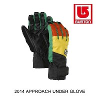 2014 BURTON バートン グローブ APPROACH UNDER GLOVE RASTA