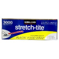KIRKLAND Signature Stretch Tite Plastic Food Wrap 30.48cm×914.4m 2537円【レジ00208733】【 コストコ カークランド...