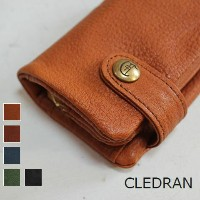 【クーポン対象外】 CLEDRAN (クレドラン)SACRE SERIESKEY COIN CASE 5colormade in Japan cl-2274-e【Wallet】