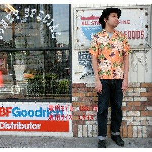 "No.SS36826 SUN SURF サンサーフS/S SHIRTS""TROPICAL FLOWERS"""