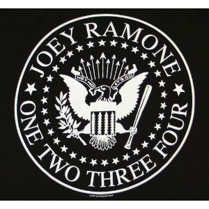Joey Ramone / One Two Three Four Tee