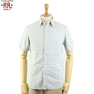 RRL (double RL) S/S Work Shirts ダブルアール 半袖 チェック ワークシャツ