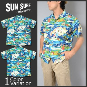 "SUN SURF(サンサーフ) アロハシャツ ""LAND OF ALOHA"" HALE HAWAII SPECIAL EDITION SS36984"