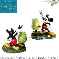 WDCC ミッキーマウス 植木屋 Mickey Mouse A Little Off the Top 1203578 □