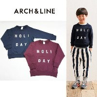 【30%OFF】【SALE】ARCH&LINE(アーチ&ライン)OG TERRY HOLIDAY トレーナー-3237【95~135cm】【宅配便】
