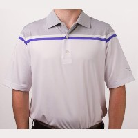 Vokey Design FJ Color Block Chest Stripe Athletic Fit Polo Shirt【ゴルフ ゴルフウェア>ポロ/長袖シャツ】