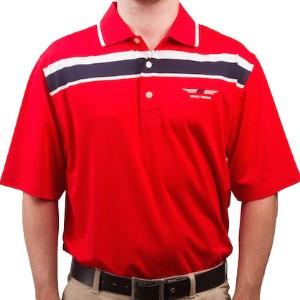 Vokey Design FJ ProDry Lisle Chest Stripe Polo Shirts【ゴルフ ゴルフウェア>ポロ/長袖シャツ】