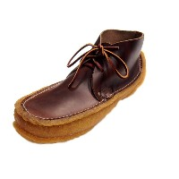 【期間限定30%OFF!!】YUKETEN(ユケテン)/EARTH MOCCASIN HIGH/brown