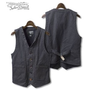 ORGUEIL オルゲイユ フレンチワークベスト『Work Wear Gilet』【アメカジ・ワーク】OR-4009(Vest)