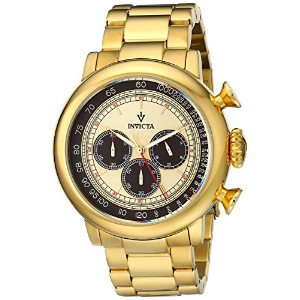 インビクタ 時計 インヴィクタ メンズ 腕時計 Invicta Men's 15064 I by Invicta Analog Display Japanese Quartz Gold Watch