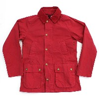 Barbour(バブアー) / BEDALE SL Overdyed ビデイルSL オーバーダイド - Red【送料無料】