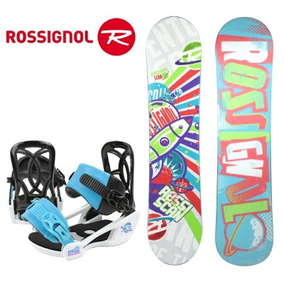 2016 ROSSIGNOL(ロシニョール)ジュニア子供用スノーボード2点セット「SCAN AMPTEK」+「ROOKIE S」