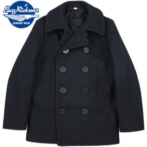 """BUZZ RICKSON'S/バズリクソンズ ENLISTED MAN'S OVERCOAT TYPE PEA COAT """"NAVAL CLOTHING FACTORY"""" P-COAT/ピーコート 01)NAVY/ Lot;BR11554"""