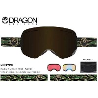 ASIAN-FIT 2016■DRAGON ゴーグル■GOGGLE■X1s■HUNTER DARK SMOKE■