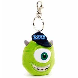 Disney(ディズニー)Mike Character Keyring, OK Fraternityマイクのキーリング