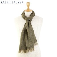 POLO by Ralph Lauren Virgin Wool Scarf (LODEN)ラルフローレン スカーフ マフラー