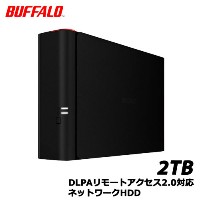 バッファロー LinkStation MyBOX LS411D0201X [MyBox DLPA2.0対応 ネットワークHDD 2TB]