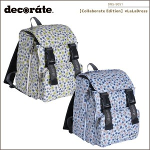 【decorate(デコレート)】【キッズバッグ】【Collaborate Edition】×LaLaDress キッズ ジュニア/M【DMS-9051】【送料無料】リュック ランドセル...