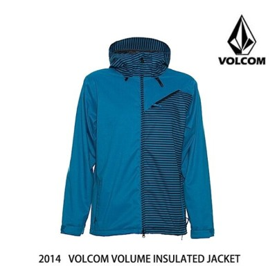 2014 VOLCOM ボルコム ジャケット VOLUME INSULATED JACKET BLU