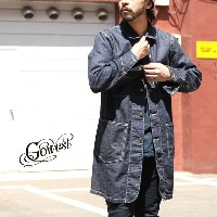 GOWEST(ゴーウエスト)ENGINEER COAT -ONE WASH- / コート