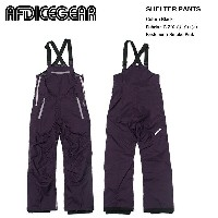 AFDICEGEAR Shelter Pants G.Z.X. Purple