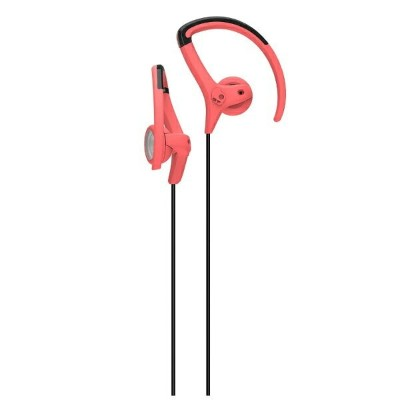 SKULLCANDY [防滴仕様]耳かけ型イヤホン (Chops bud Hot Red/Black/Hot Red) J4CHGZ-318 1.2mコード[CHOPSBUDHOTREDBLACK]...