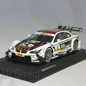 "BMW ミニチュアカー M3 DTM 2013 Ice Watch""Marco Wittmann""(サイズ:1/18)"