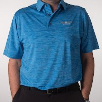 Vokey Design FJ Space Dye Lisle Self Collar Polo Shirts【ゴルフ ゴルフウェア>ポロ/長袖シャツ】