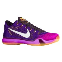 "Nike Kobe 10 Elite Low ""Draft Pick""メンズ Court Purple/White/Vivid Purple ナイキ バッシュ コービーブライアント"