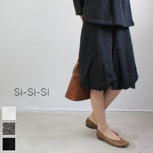 ◆◆【 50%OFF 】 Si-Si-Si(スースースー) リネンキャンバス スカート 3colormade in japan n-s1414-e