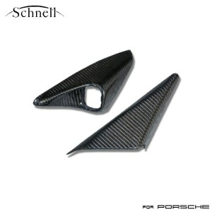 【 schnell 】ポルシェ 997/987 ミラースイッチカバー リアルカーボンシリーズ ※ Porsche 997/987 Carbon Mirror Swith Cover Real...