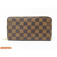 LOUIS VUITTON ルイヴィトン ダミエ ジッピーウォレット ファスナー財布 長財布 N60015 美品 【中古】