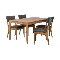 ATEMPO DINING TABLE 150+A TEMPO DINING CHAIR×4アテンポ ダイニング 5点セット[D VECTOR PROJECT 300001]