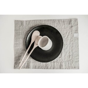 not PERFECT LINEN | SET OF 6 LINEN PLACEMATS (natural) | プレイスマット(6枚セット)