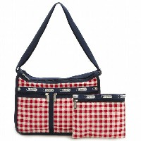 【40%OFF】LeSportsac 7507-D757 ショルダーバッグ Deluxe Everyday Bag(デラックスエブリデイバッグ)Gingham Classic Red...