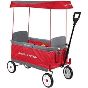 Radio Flyer Kid's Ultimate EZ The Best Folding Wagon Ride On by Radio Flyer ラジオフライヤー