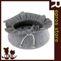 PAW-PAW DRAWSTRING PET BED ▽s ペット グッズ 犬 ドッグ 猫 キャット ベッド