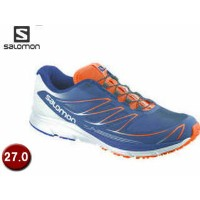 【nightsale】 SALOMON/サロモン L37130100-D3391 SENSE MANTRA 3 【27.0】 (GREY DENIM/White/FLUO ORANGE)