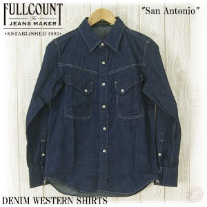 FULLCOUNT フルカウント DENIM WESTERN SHIRTS FC-4931