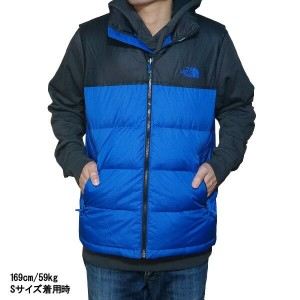 ノースフェイス メンズ ヌプシ ダウン ベスト The North Face Men's Nuptse Down Vest Monster Blue/Tnf Black