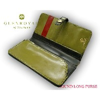 グレンロイヤル / GLENROYAL ■ROUND LONG PURSE 03-6178 ●026 ( NEW BLACK×HUNTER GREEN×BORDEAUX ) [ 完全限定入荷商品 ]...