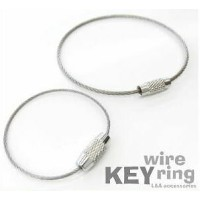 L&A ワイヤーリング キーリング Key wire ring