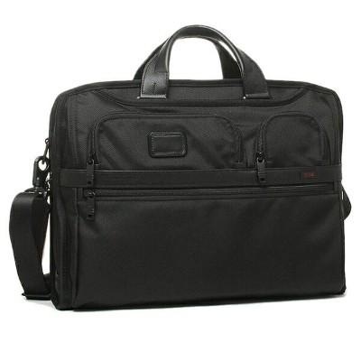 トゥミ バッグ メンズ TUMI 26114 D2 ALPHA 2 COMPACT LARGE SCREEN COMPUTER BRIEF ブリーフケース BLACK