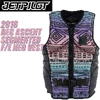 【JETPILOT】ジェットパイロット 2016年モデル JA5208 BEC ASCENT SEGMENTED F/E NEO VEST [MULTI] 【02P20May18】