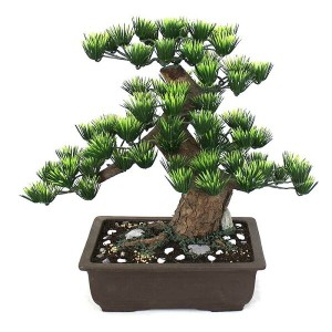 長角9号(工芸盆栽)【Bonsai of imitation】【Bonsai of artificial】