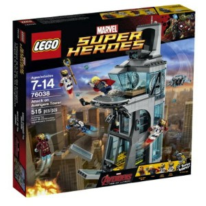 LEGO レゴ スーパーヒーローズ アベンジャーズタワーの攻撃 76038 Superheroes Attack on Avengers Tower レゴブロック 組立キット・お取寄